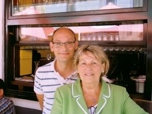 Strozzi-Chefin Alice Schlossko und Juniorchef Sohn Harald. Foto: Lohmeyer