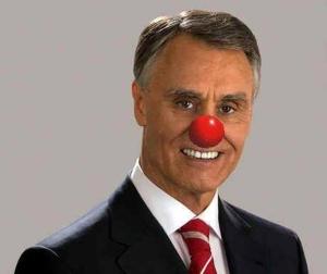 """So sehen in Portugal; nicht nur SatirikerInnen """"Ihren""""πräsident Cavaco Silva"""