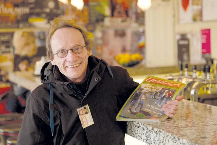 Walter LOHMEYER, Uhudla-Straßenzeitung.